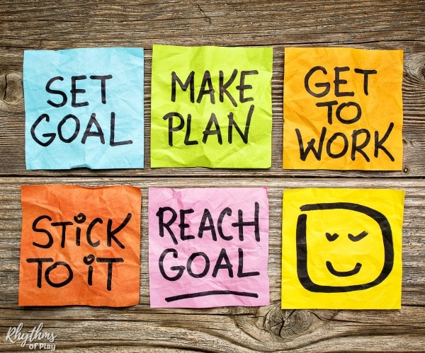 How to accomplish goals with an action plan