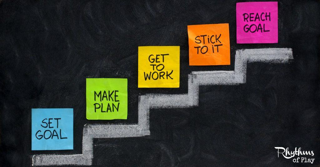 How To Create An Action Plan To Accomplish Goals  Rhythms Of Play