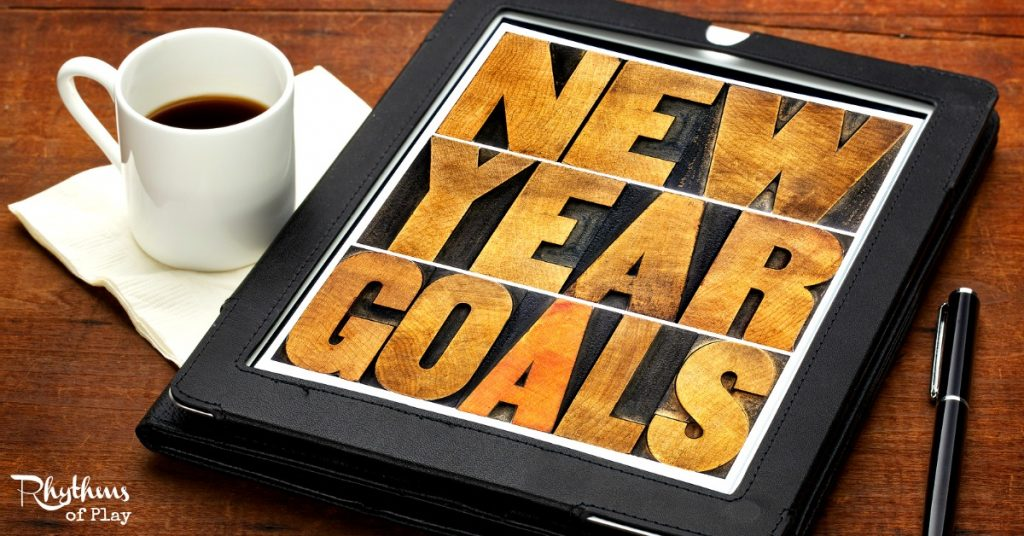 Making Resolutions setting goals in the new year