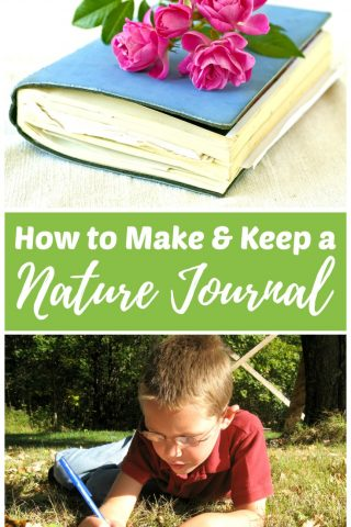 How to Make and Keep a Nature Journal or Notebook