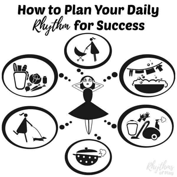 How to plan your daily rhythm or routine