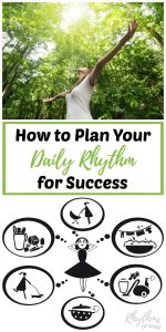 Get Organized For Good: Establishing A Daily Rhythm