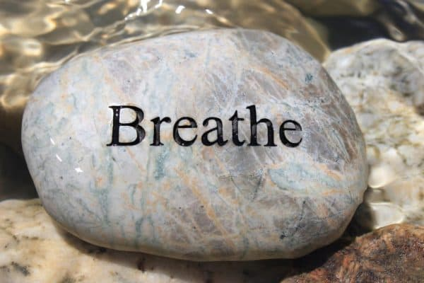 breathe - one little word of the year 2020
