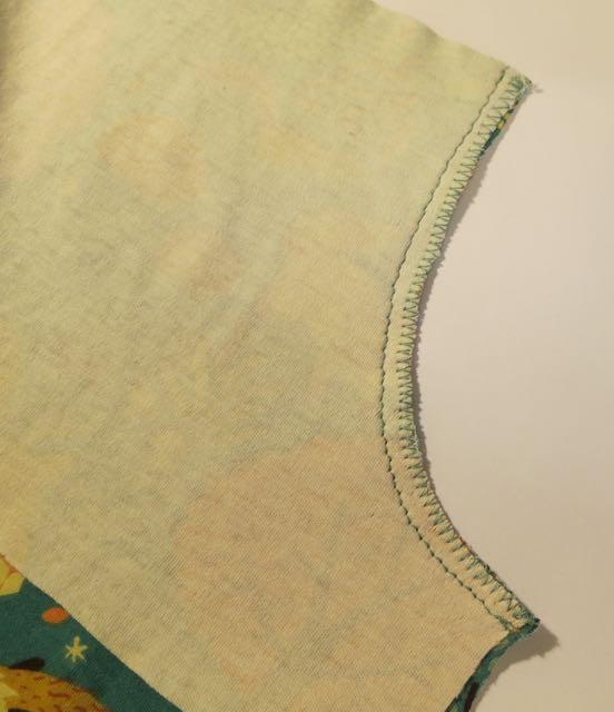 11. armhole seam