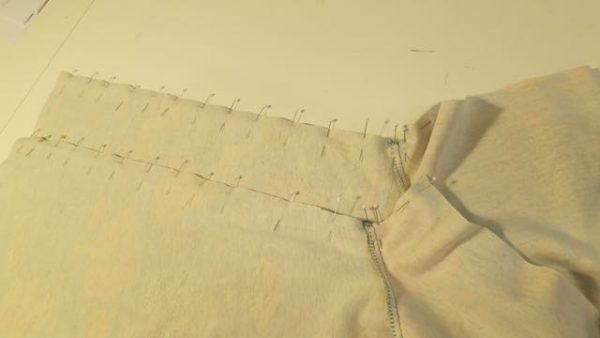 12. side _ under arm seams