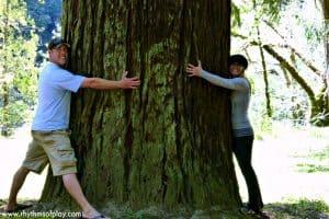Dad & Mom Tree Hug