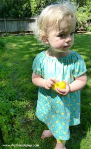 Easter peasant dress