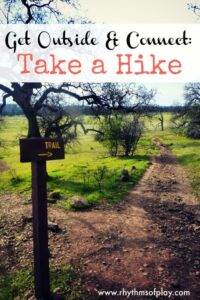 take a hike -- a fun learning activity for everyone!