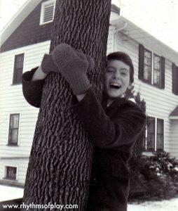Grandma Tree Hug