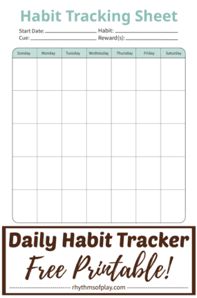 png image of free printable habit tracker by Rhythms of Play