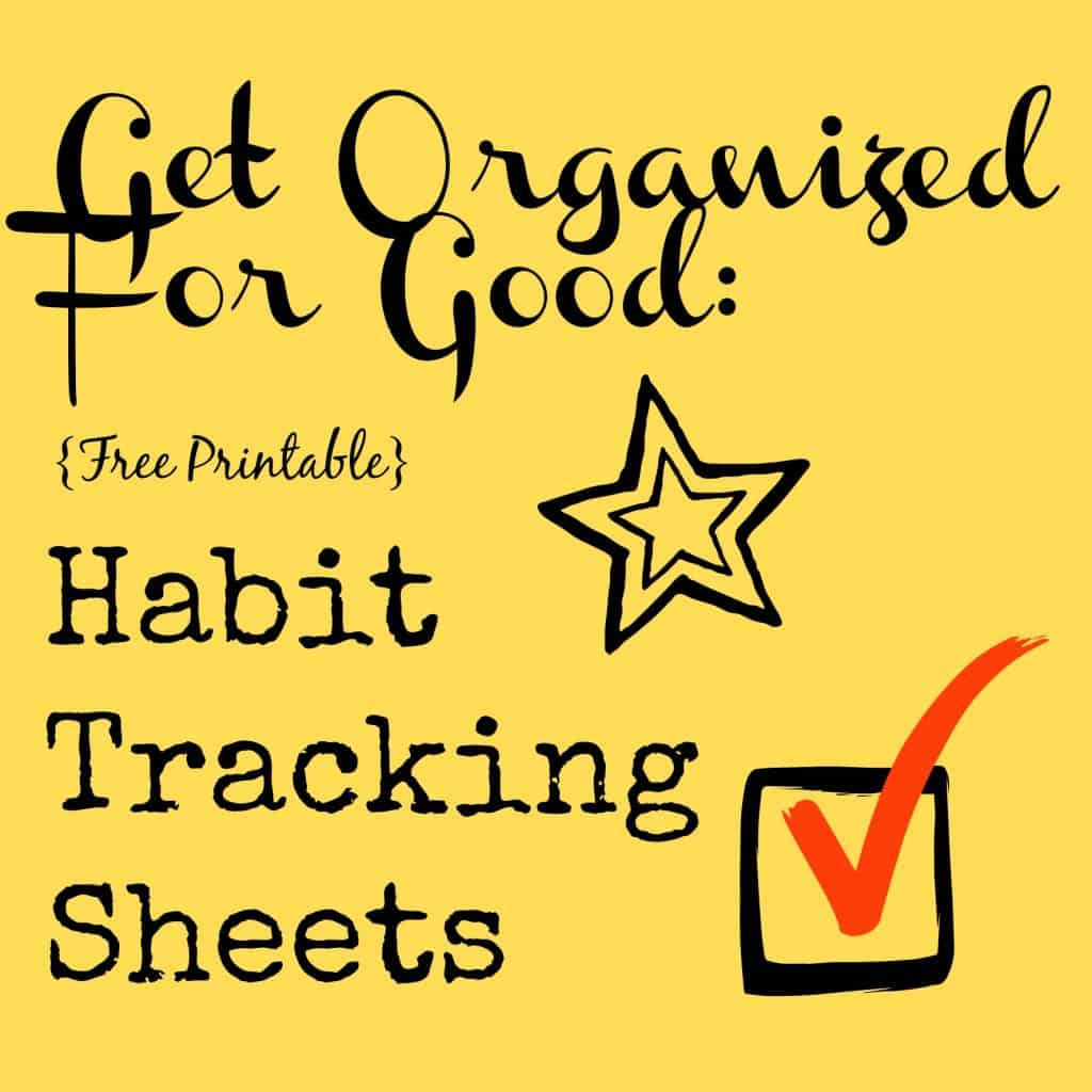 Habit Tracking Sheets