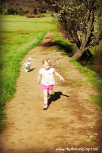 take a hike -- a fun activity for kids