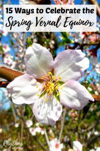 The spring vernal equinox typically occurs between the 20th and 22nd of March in the Northern Hemisphere while those in the Southern Hemisphere celebrate in September. While the Northern Hemisphere welcomes the spring, the Southern Hemisphere welcomes the fall or autumn. Click through to find traditional celebration ideas, crafts, and decorations you can make to celebrate the March solstice! Links to celebration ideas for the fall autumnal equinox are also included.