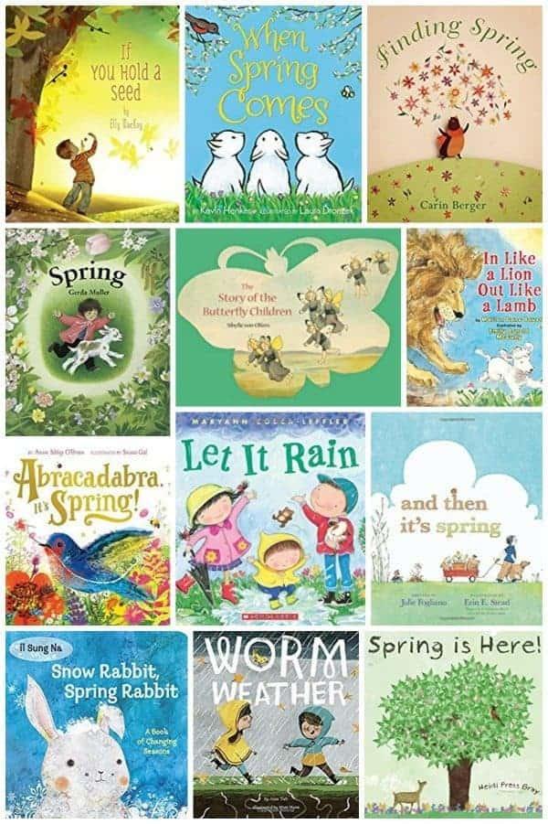 Spring books for kids - Children's books for spring