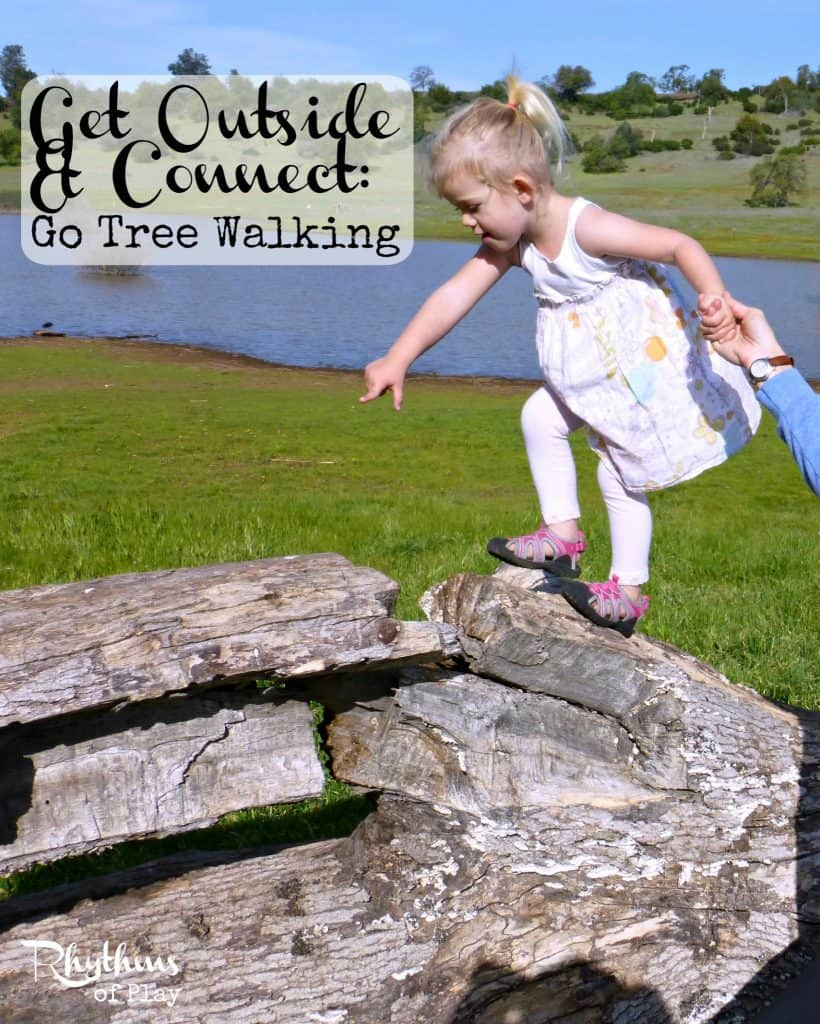 Get Outside & Connect Go Tree Walking Rhythms of Play