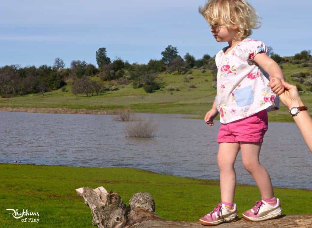 Go tree walking, a fun activity to do with kids!