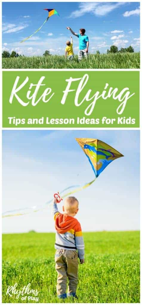 Kite Flying With Kids How To Fly A Kite Rhythms Of Play