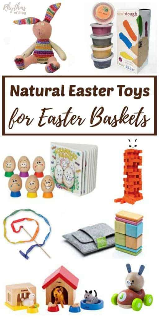 natural, organic, and eco-friendly Easter toys for Children's Easter Baskets