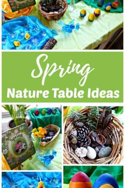 Spring Nature Table Ideas