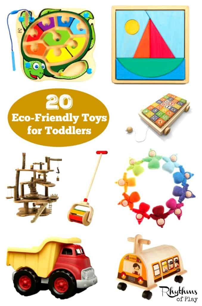 20 Eco-Friendly Toys for Toddlers