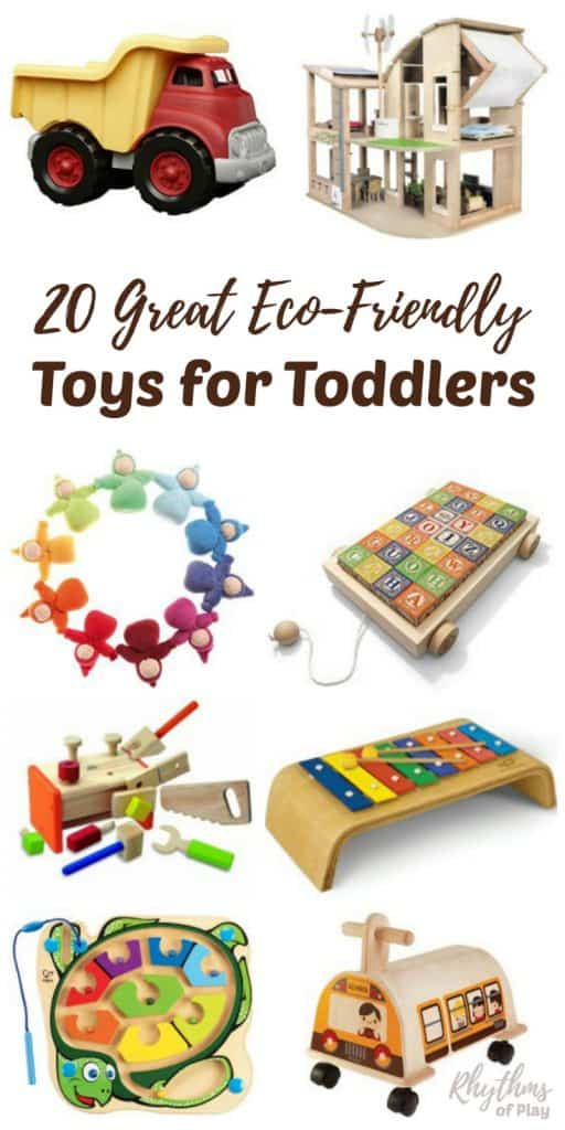 Great Toys For Preschoolers : Great eco friendly toys for toddlers rhythms of play