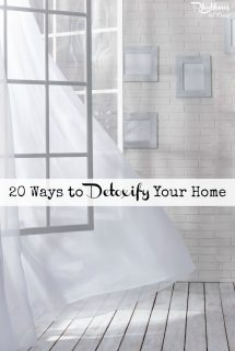 20 Ways to Detoxify Your Home