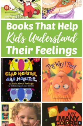 Children's books about feelings and emotions