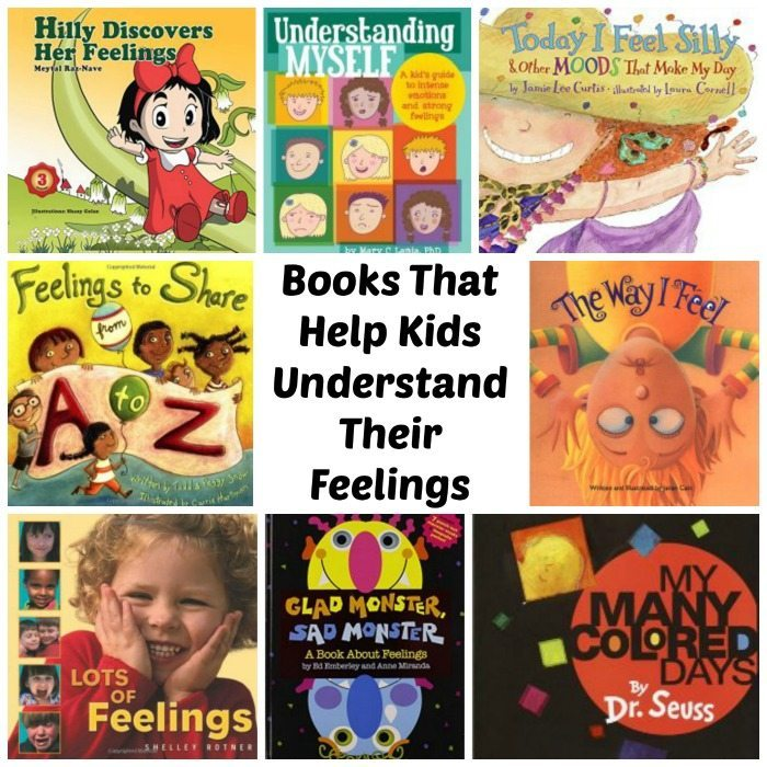 kids books about feelings and emotions