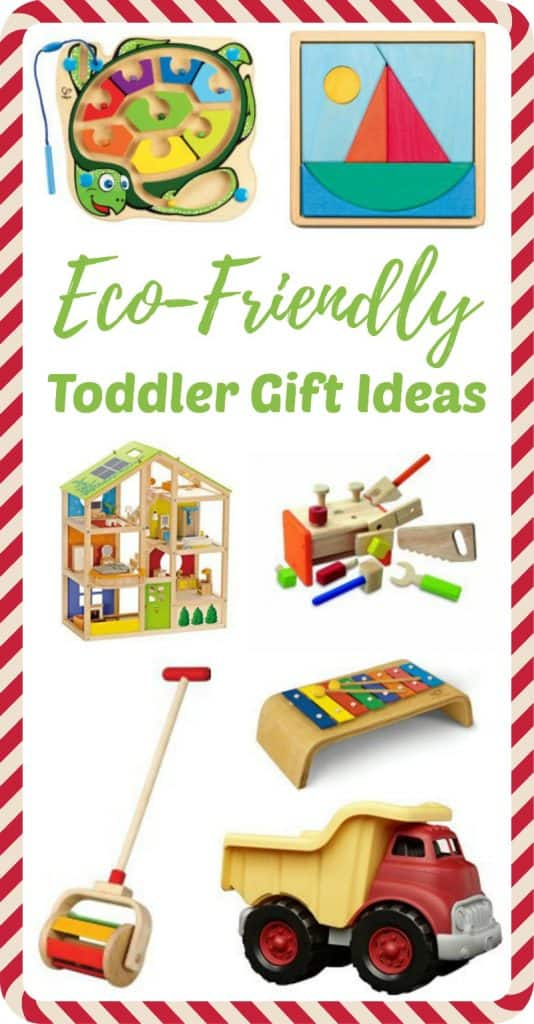 This Toddler Christmas gift guide contains Waldorf and Montessori eco-friendly toys that boost development naturally. Toys made of wood and other natural materials provide a rich sensory experience for the developing child.