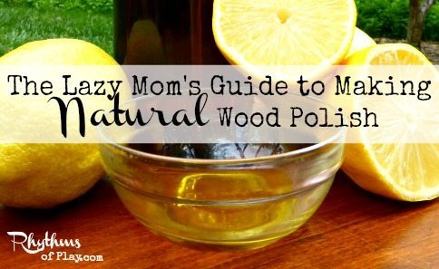 How to make natural wood polish.