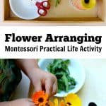 Flower Arranging Montessori Practical Life Kids Activity