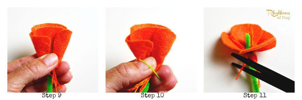 California State Poppy Craft