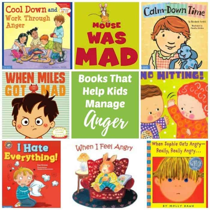 Picture of a collection of Children's Books About Anger Managment