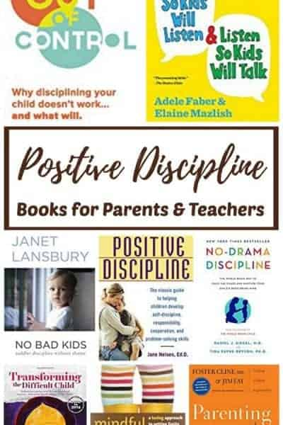 The Best Positive Discipline Books for Parents and Teachers