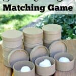 Scented Cotton Ball Matching Game for Kids