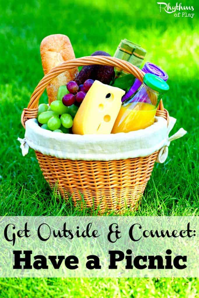 Get outside and connect: Have a picnic