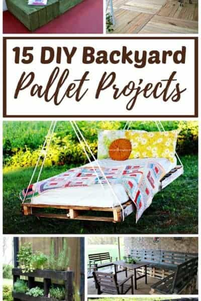 DIY Backyard Pallet Projects
