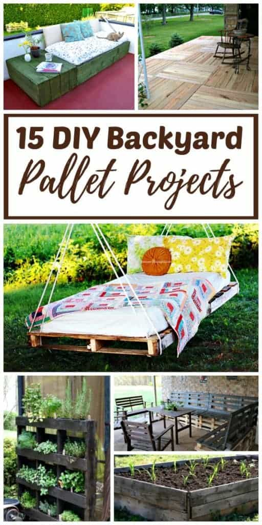 15 Diy Backyard Pallet Projects With Step By Tutorials
