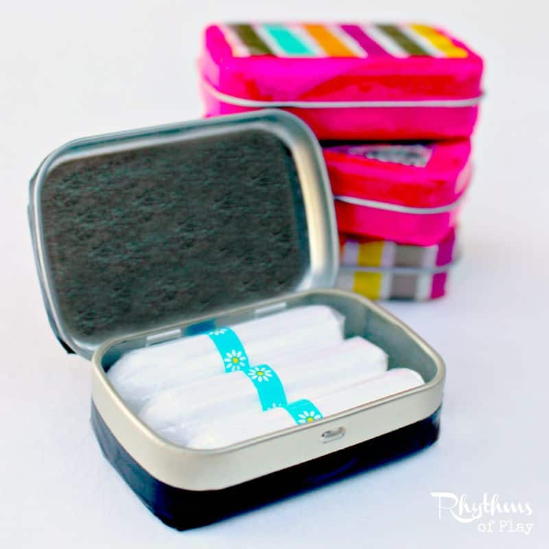 DIY mini secret stash tins