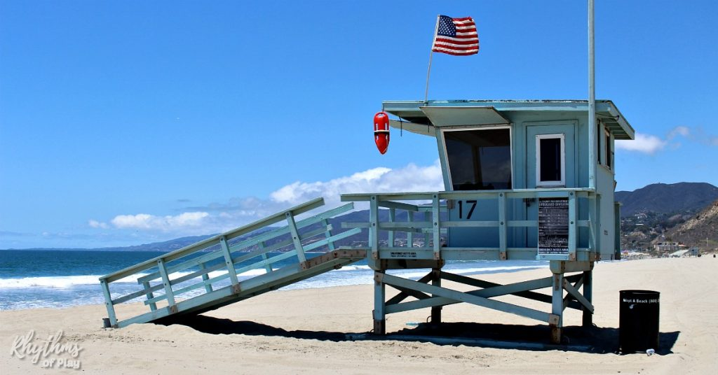 always swim near an open lifeguard tower