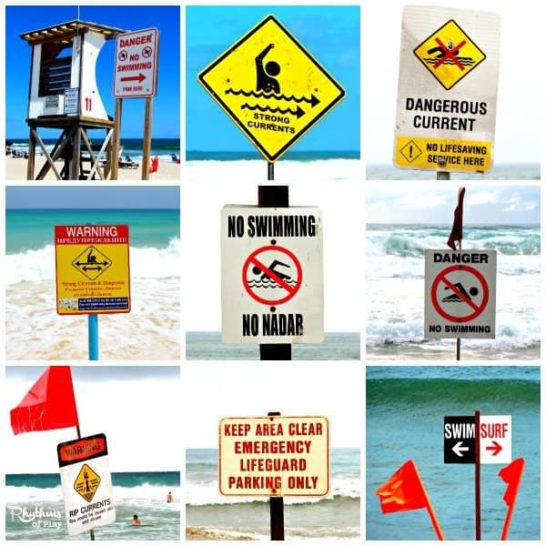 Beach Safety Tips from an Ocean Lifeguard Mom