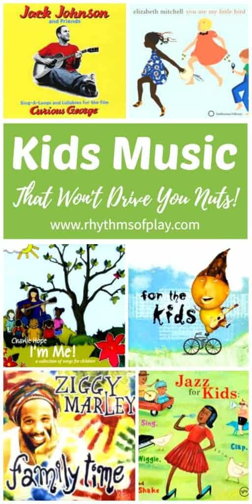 Kids music list with the best music for kids
