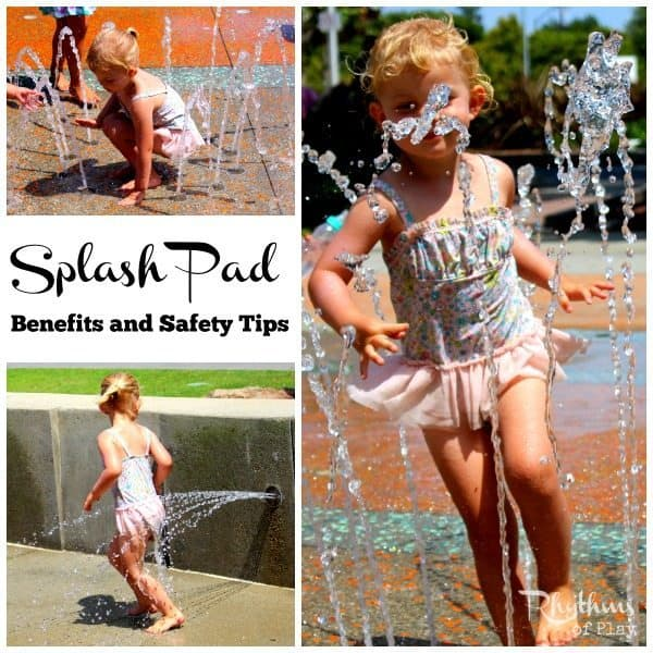A splash pad provides water play and fun for the whole family. They have been popping up everywhere as an alternative to local pools in many cities and towns all over the world. There are lots of benefits to splash pad play, and even though they are safer than pools and other open bodies of water, there are still many things to keep in mind to keep your kids safe while having fun.