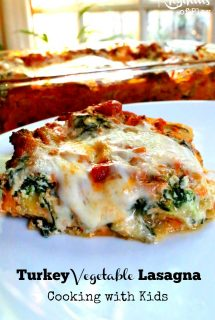 Turkey Vegetable Lasagna Recipe: Cooking with Kids