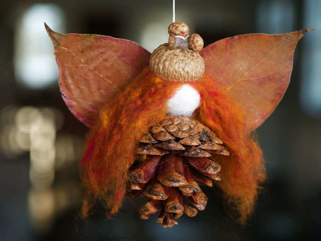 Autumn Pinecone Fairy