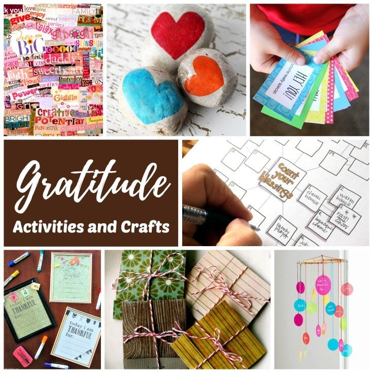 Gratitude lessons, activities, and crafts for kids