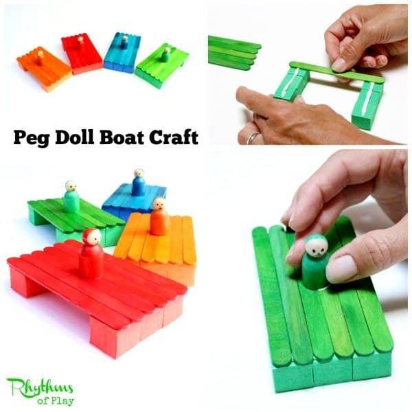 Peg Doll Boat Craft sq2