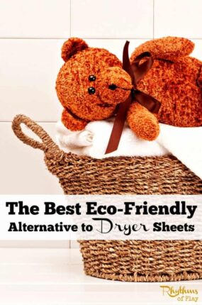 The best eco-friendly alternative to dryer sheets