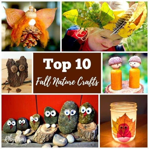 Try some of these fall nature craft projects this autumn.