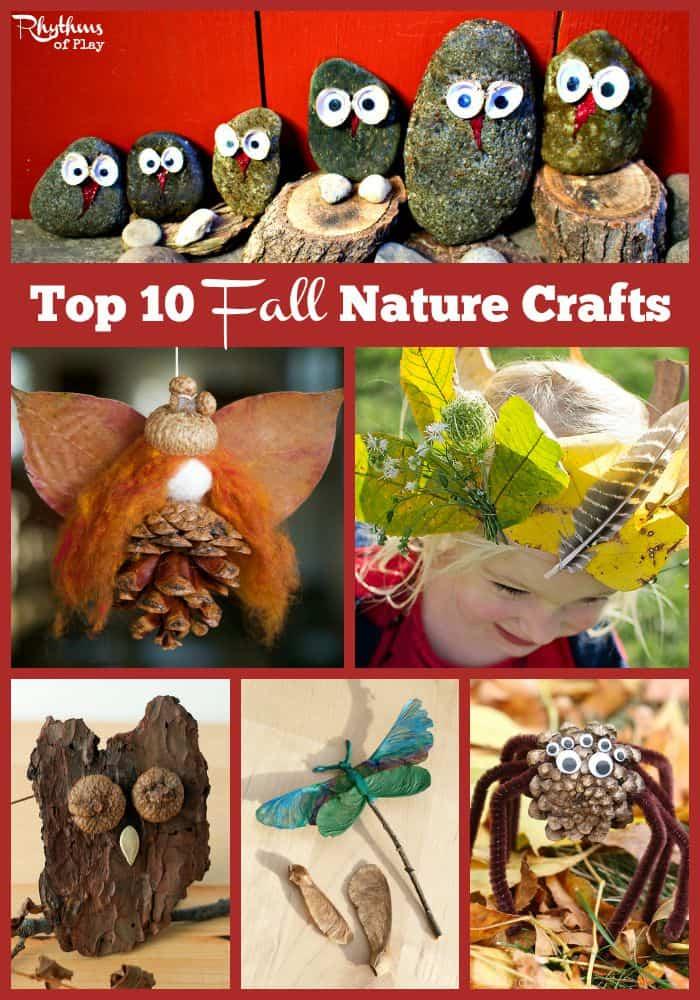 Top 10 Fall Nature Crafts